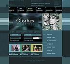 Шаблон сайта - Clothes Collections
