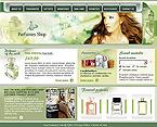 Шаблон сайта - Магазин парфюмерии