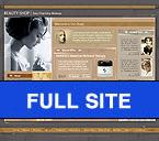 Шаблон сайта - Уход за кожей