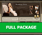 Шаблон сайта - Wedding Store