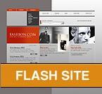 Шаблон сайта - Fashion.com