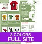 Шаблон сайта - Shirts