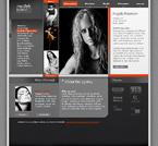 Шаблон сайта - Модельное агентство