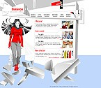 Шаблон сайта - Магазин молодежной одежды