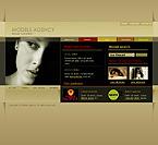 Шаблон сайта - Model agency