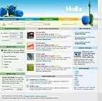 Шаблон сайта - Helix
