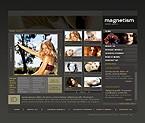 Шаблон сайта - Женский магнетизм