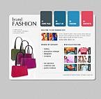 Шаблон сайта - Модный бренд