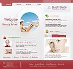 Шаблон сайта - Салон красоты