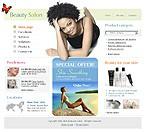 Шаблон сайта - Beauty Salon