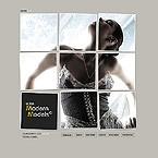 Шаблон сайта - Modern Models