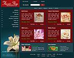 Шаблон сайта - Flowers Shop